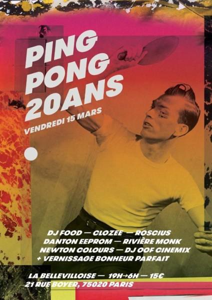 Les 20 ans de Ping Pong !